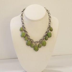 Ann Taylor green and glitter